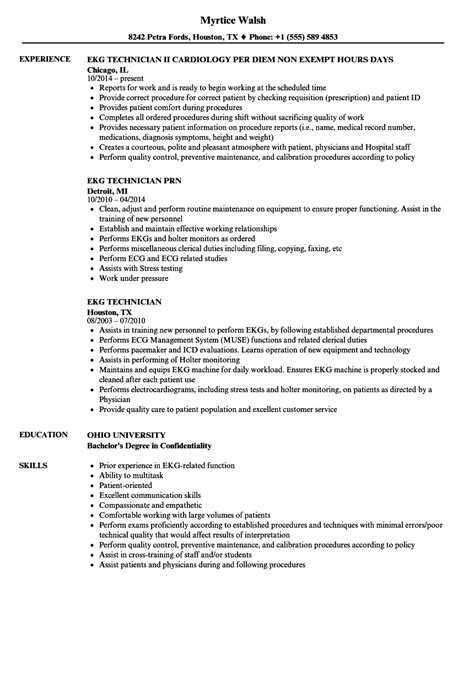 ekg. cover letters for tech jobs new ekg technician cover letter ...
