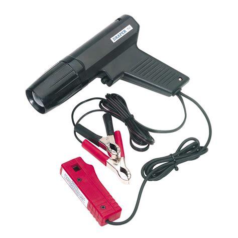 draper pistol grip strobe ignition timing check test light