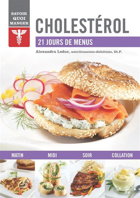 livre cuisine saine cholestérol alex cuisine