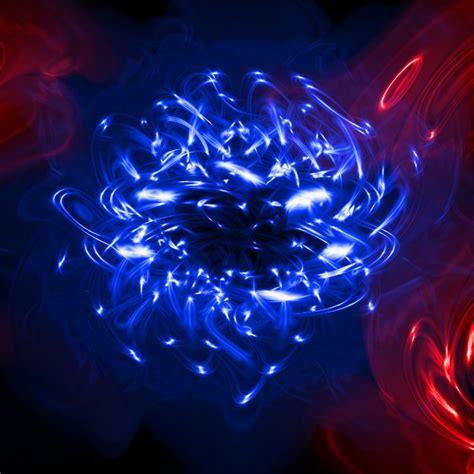 Neon Blue Hd Wallpaper
