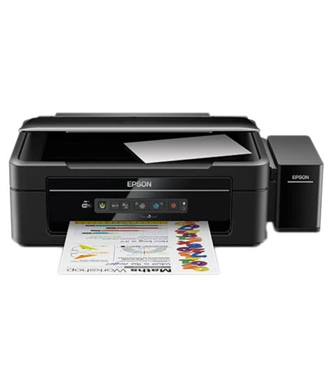 printer epson l 385 its a low ink printer with wireless support epson l385