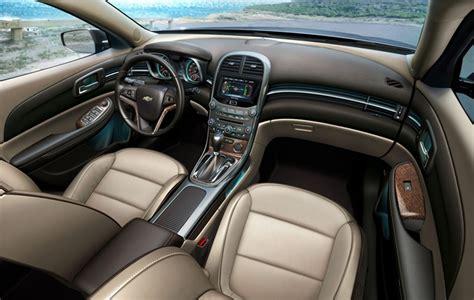chevrolet malibu interior delivers  touch  luxury