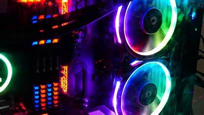 Neon Computer Colorful 4k Backlight Wallpapers Coolers