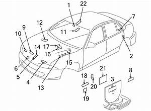 Chevrolet Cavalier Emission Label  2 2 Liter  Auto Trans