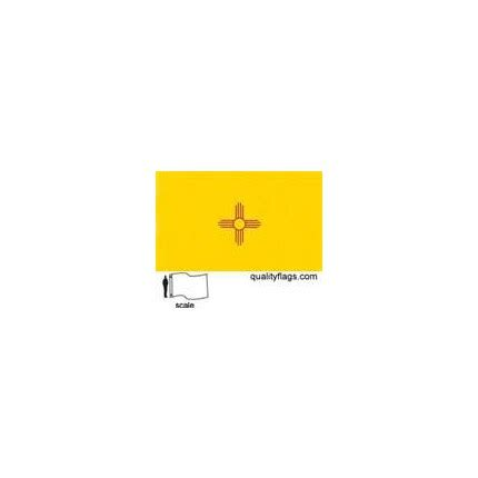 New Mexico State Flag 6x10' Nylon | Quality Flags