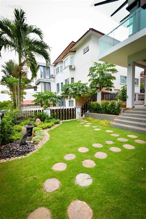 Home Design Ideas Malaysia by Modern Garden Semi Detached Design Ideas Photos Malaysia