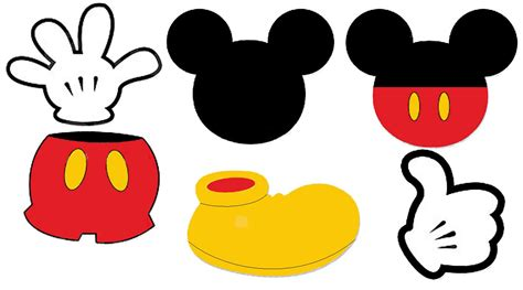 Mickey Mouse Template Printable Mickey Mouse Ears Template Cliparts Co