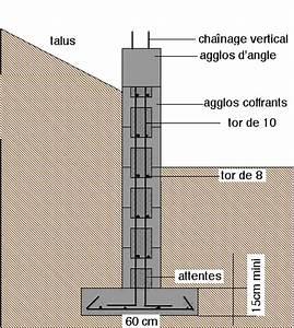 Ferraillage Fondation Mur De Cloture : prix agglo ~ Dailycaller-alerts.com Idées de Décoration