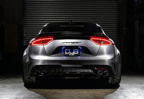 kia  stinger gt  menacing dub treatment  sema