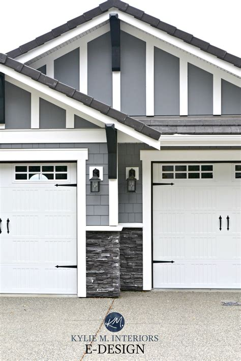 exterior paint colour dark gray similar to benjamin moore