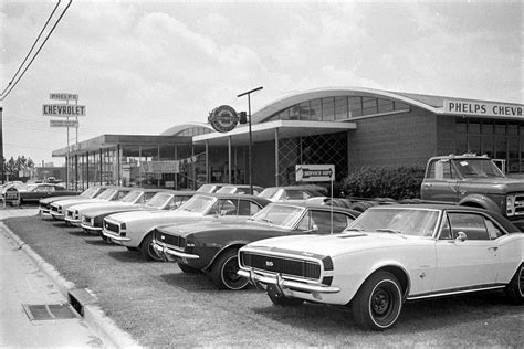 Chevrolet Dealers In Greenville Sc by 1967 Phelps Chevrolet Greenville Sc Camaro