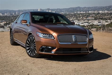 lincoln 2017 car 2017 lincoln continental first drive review