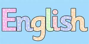 English with letters title display lettering english for Display lettering