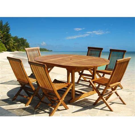 salon de jardin teck huile bois dessus bois dessous salon de jardin en teck huil 233 6 224 8 personnes table ronde ovale 6