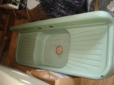 enamel cast iron farmhouse sink large ceramic or enameled sinks with drain board vintage