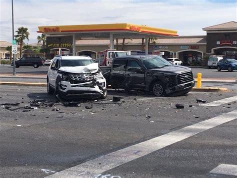 injured   car crash  las vegas las vegas local