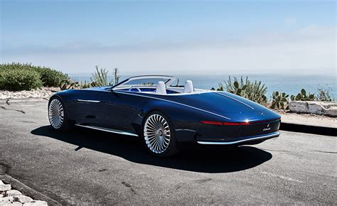 Mercedes-maybach Vision 6 Cabriolet, Electric Super-luxury