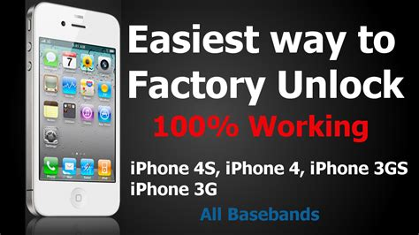 how to apple factory unlock iphone 4 4s any baseband html