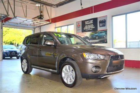 Mitsubishi Glenview by Find Used 2012 Mitsubishi Outlander Gt In Glenview