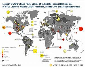 40 Percent of Countries with Largest Shale Energy ...