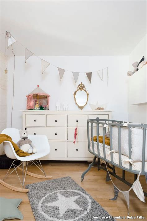 decoration chambre bebe fille photo idee deco chambre bebe fille with scandinave chambre de