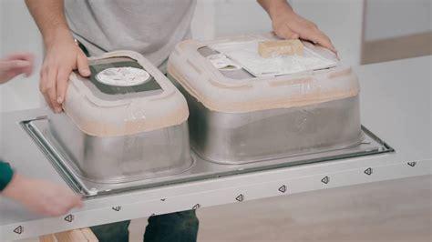 plaque cuisine inox ikea tuto cuisine 4 plan de travail évier et table de
