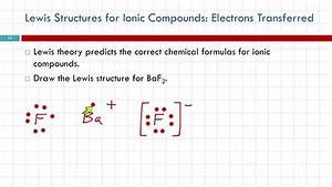 10 3 Lewis Structures Ionic Compounds  Electrons Transferred