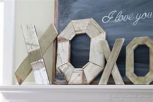 Dear valentine39s day projects finding home farms for Making wooden letters