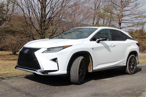 lexus hybrid 2017 lexus rx 450h hybrid gas mileage review