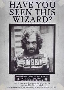 Sirius Black Wanted Poster | Book stuff | Pinterest