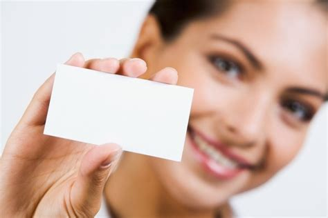 Holding A Blank Business Card Characters Hd Picture 3 Free