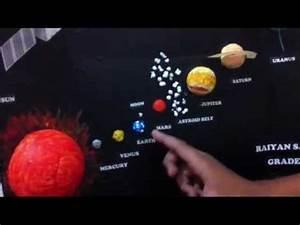 Grade 2 student Solar System Model.mp4 - YouTube