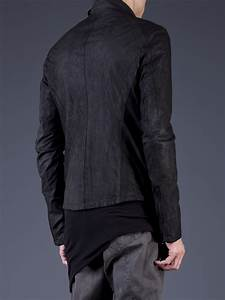 Julius Fencing Jacket in Black for Men | Lyst