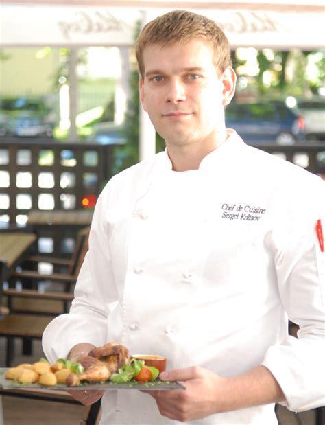 cuisine de chefs chef de cuisine sergei koltsov recommends