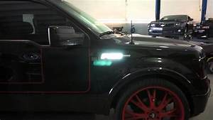 Recon Part   264282wh 09-14 Ford F-150 Illuminated Emblems White Led