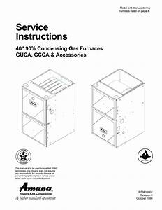 Amana Gcca070ax30 Specifications