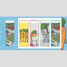 * New * Carrot Club Editable Bookmarks  Originals, Fiction, Ks1, Healthy