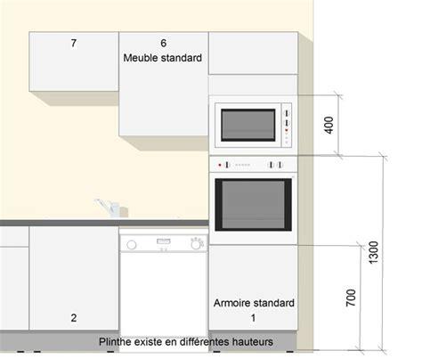 dimension meuble de cuisine dimension standard meuble cuisine mouvement uniforme de