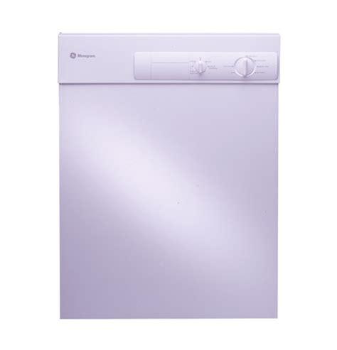 ge monogram white dishwasher  stainless steel