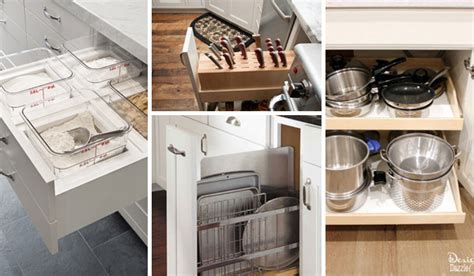 how to organize kitchen drawers and cabinets 15 easy and clever diy hacks to organize kitchen cabinets 9502
