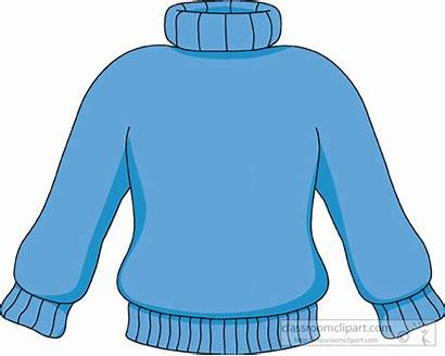 Sweater Clip Clipart Neck Winter Turtle Jumper