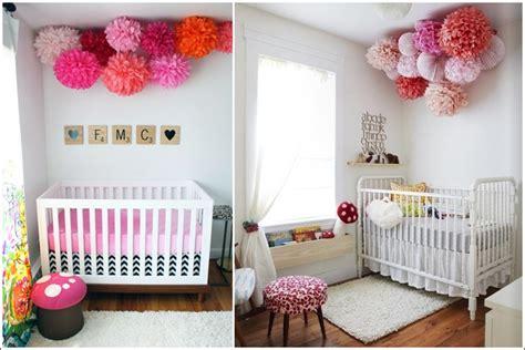 am ager la chambre de b décorez la chambre de votre bébé avec des pompons