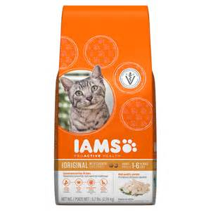 healthy cat food iams proactive health original with chicken cat