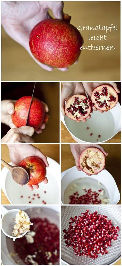 wie esse ich einen granatapfel granatapfel wie essen 20 ideen wie granatapfel essen und richtig entkernen kann gesunder