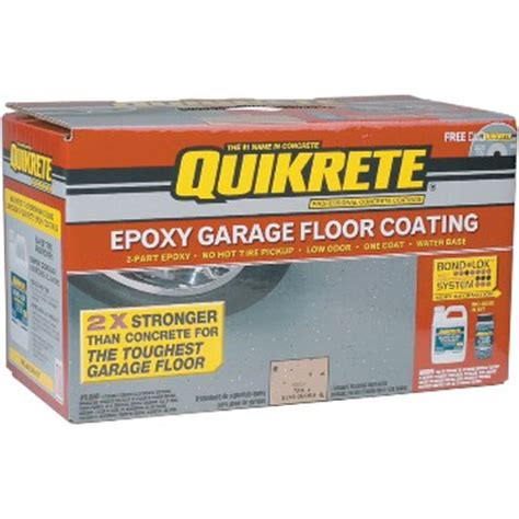 quikrete epoxy garage floor coating kit buy the quikrete 002 0050021 022 epoxy garage floor kit