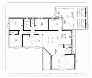 plan maison moderne 140m2 With plan maison individuelle moderne