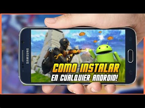 tutorialfortnite mobile android apk como descargar