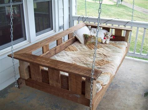 how to build a porch swing bed build hanging porch swing woodworking projects plans