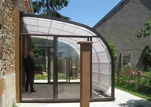 Abri De Terrasse Rideau : abri de terrasse rideau maison image id e ~ Premium-room.com Idées de Décoration