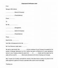 Best 25 ideas about Free Printable Employment Verification Letter